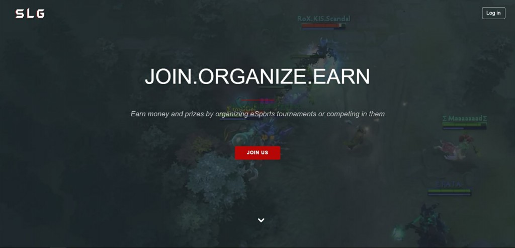Shadow League Gaming home page